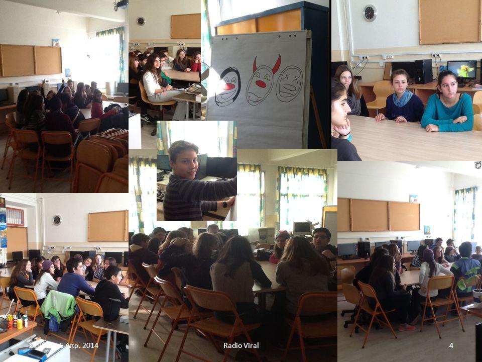 http://blogs.sch.gr/radioviral Radio Viral5Σάββατο 5 Απρ. 2014