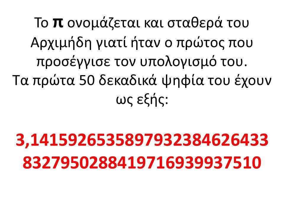 Όπως βλέπουμε η πλήρης περιστροφή στον άξονά του συμπληρώνεται ακριβώς στην τιμή 3,14:στο σημείο π