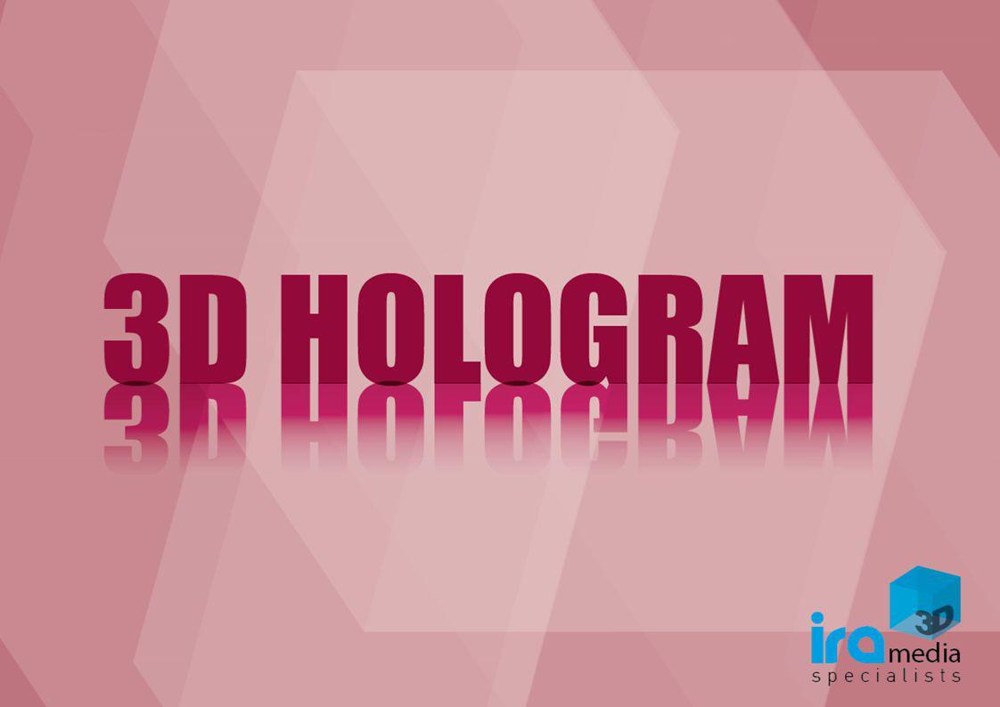 TO 3D HOLOGRAM RETAIL 360 o είναι μια μέθοδος, που επιτρέπει την προβολή video με τη μορφή ολογραφικής απεικόνισης.