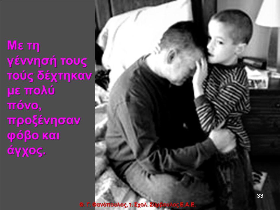 Κάθε ένας ήρθε στη μήτρα μιας μητέρας, και πήρε μορφή σε 6,7,8 ή 9 μήνες... 32 Θ. Γ. Θανόπουλος, τ. Σχολ. Σύμβουλος Ε.Α.Ε.