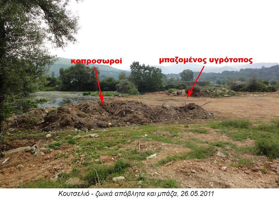 Κουτσελιό - ζωικά απόβλητα και μπάζα, 26.05.2011
