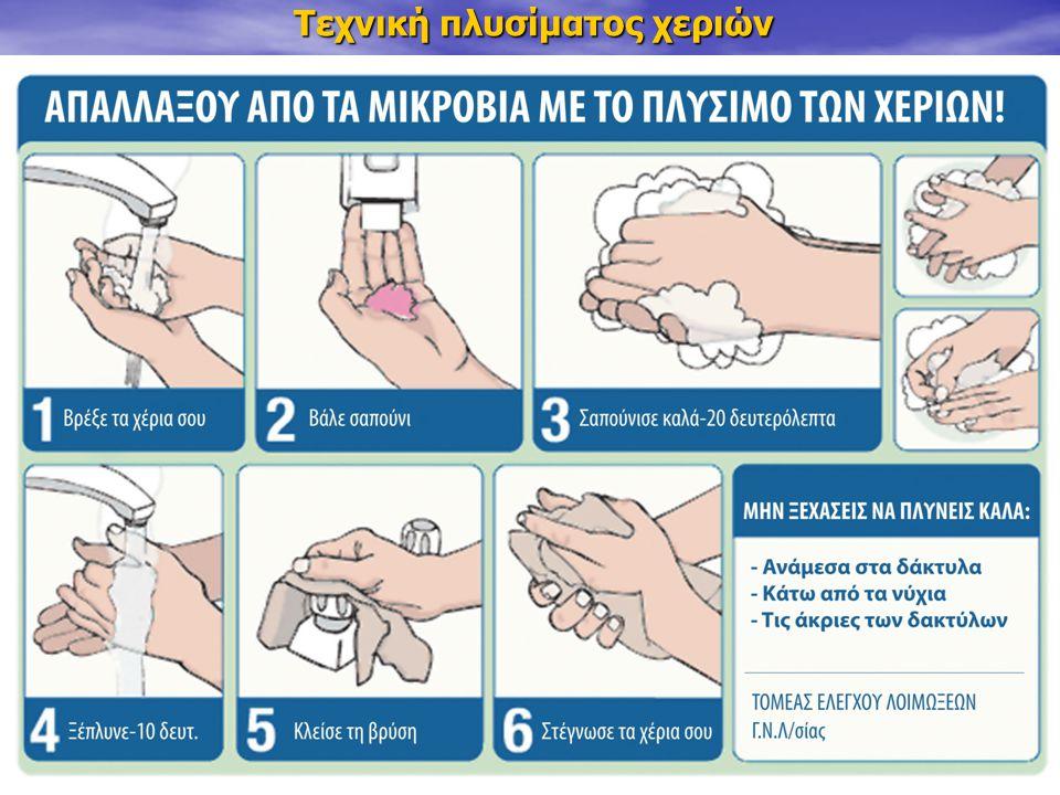 Τεχνική πλυσίματος χεριών