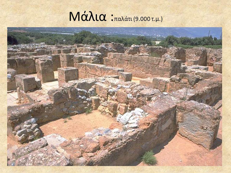 Μάλια : παλάτι (9.000 τ.μ.)