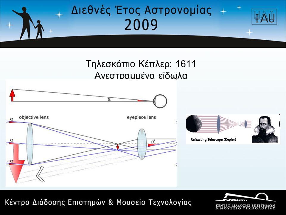 Τηλεσκόπιο Κέπλερ: 1611 Ανεστραμμένα είδωλα