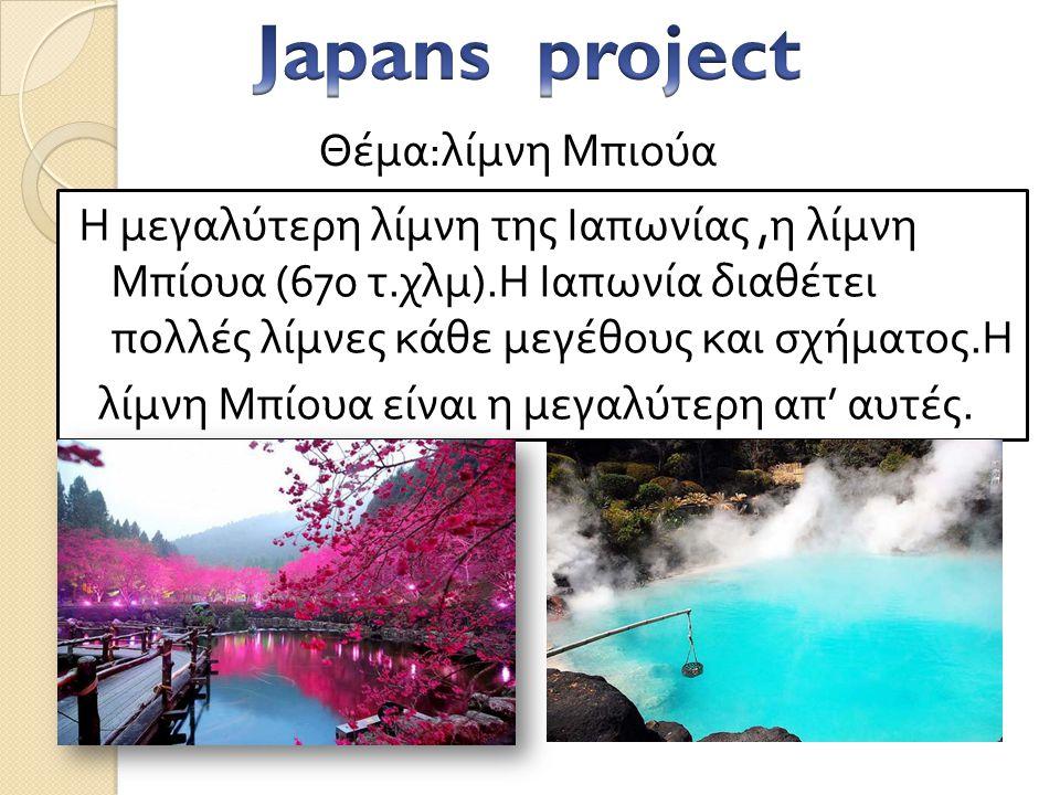 Το όρος Φούτζι είναι το ψηλότερο βουνό της Ιαπωνίας, με υψόμετρο 3.776 μέτρα. Βρίσκεται περίπου εκατό χιλιόμετρα νοτιοδυτικά του Τόκιο από όπου είναι