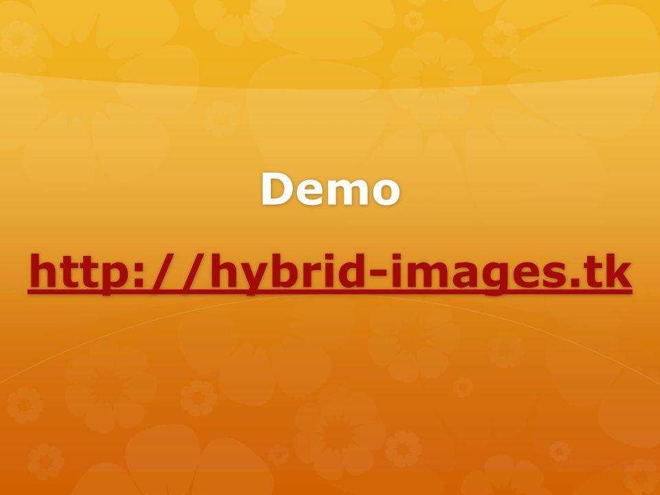 Demo http://hybrid-images.tk