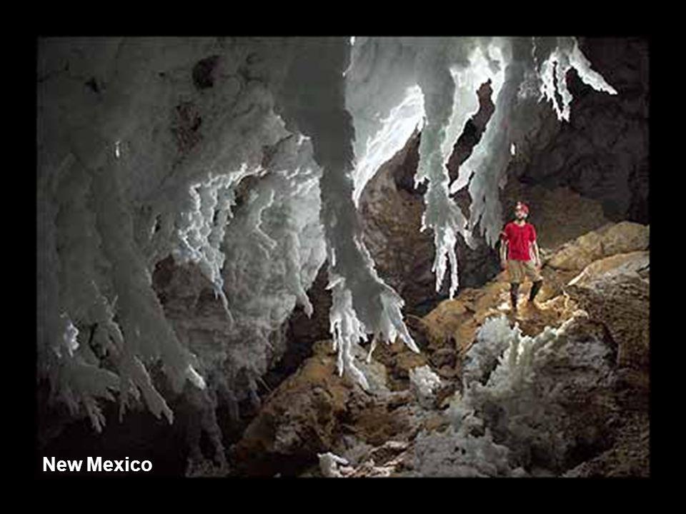 Cueva de los Cristales, Mexico.