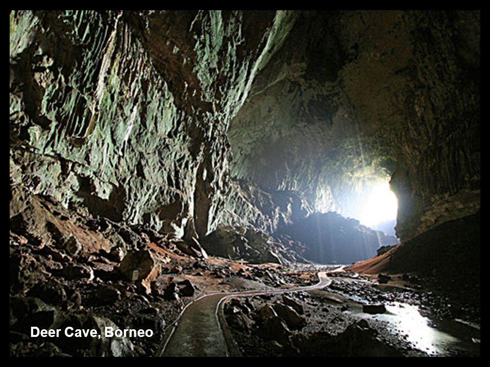 Deer Cave, Borneo