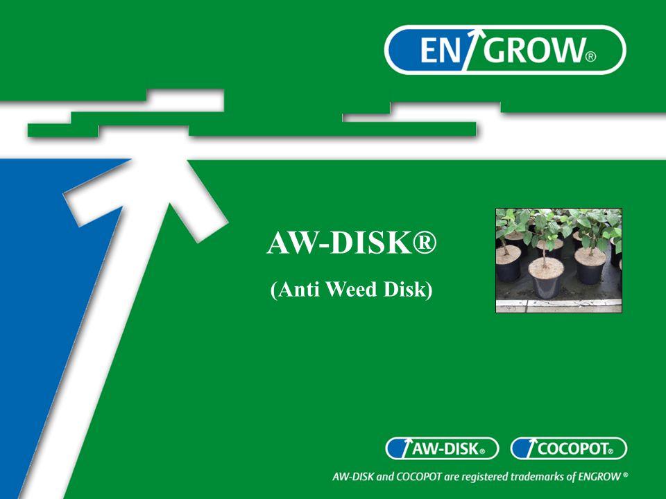 AW-DISK® Ο AW-DISK® είναι ο καλύτερος τρόπος αντιμετώπισης των ζιζανίων και βρύων που αναπτύσσονται μέσα στις γλάστρες.