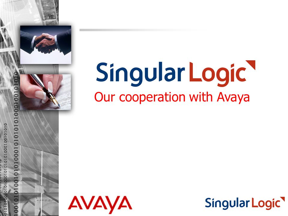 Our cooperation with Avaya