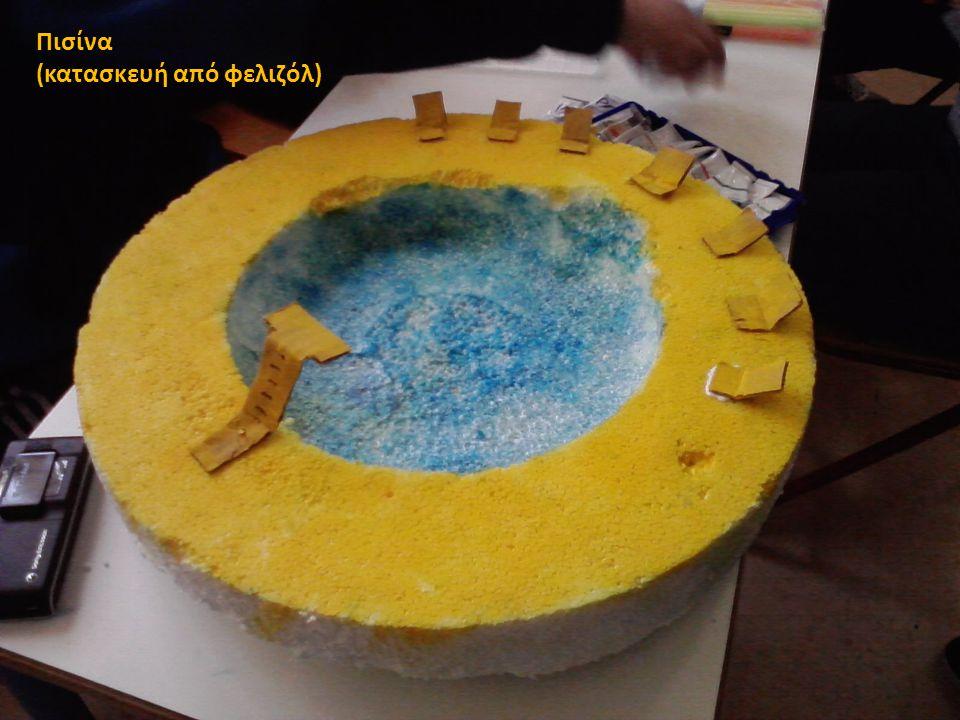 Πισίνα (κατασκευή από φελιζόλ)