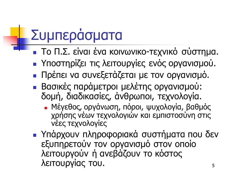 6 Προβλήματα (1/3)  Προσδιορισμός και ανάλυση αναγκών των χρηστών.
