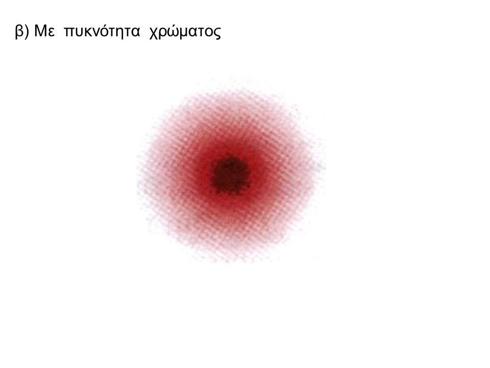 Πως όμως απεικονίζουμε σχηματικά το ηλεκτρονιακό νέφος; α) με τελίτσες(στιγμές)