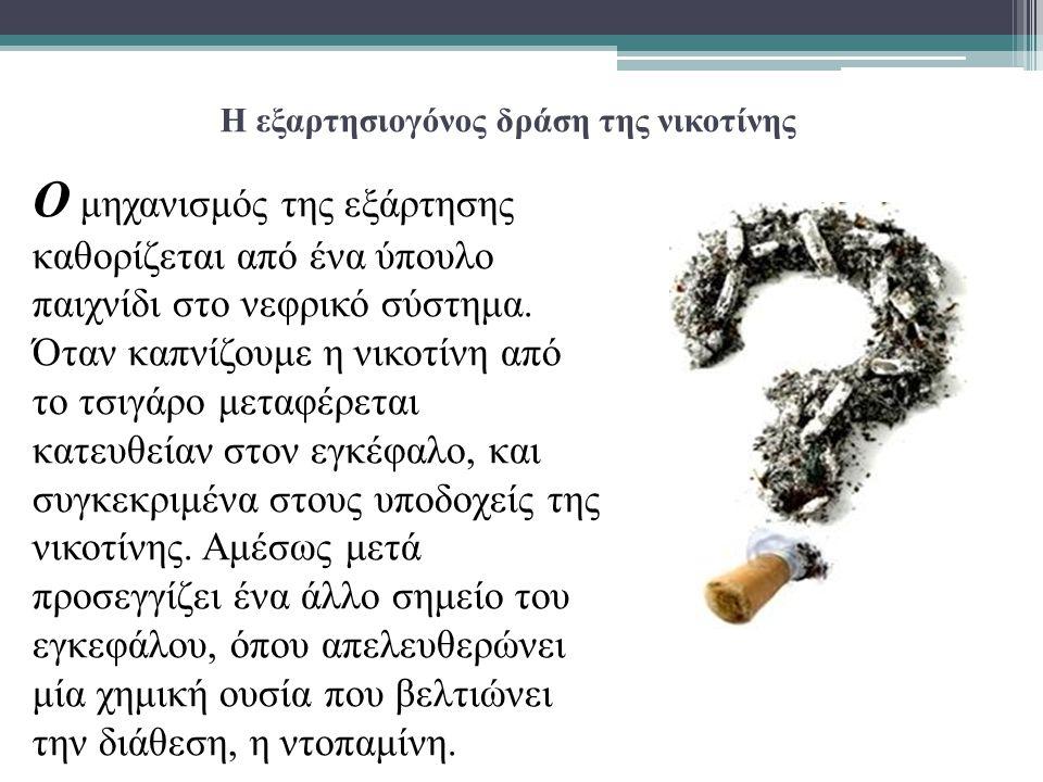 Τι μπορεί να προκαλέσει η νικοτίνη σε νέους καπνιστές  Συνηθίζοντας πλέον να χρησιμοποιεί τη συγκεκριμένη ουσία, ο οργανισμός του καπνιστή απαιτεί να