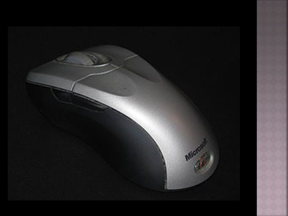 Το ποντίκι είναι μια μικρή συσκευή που χρησιμοποιείται για την κατάδειξη και επιλογή στοιχείων στην οθόνη του υπολογιστή.