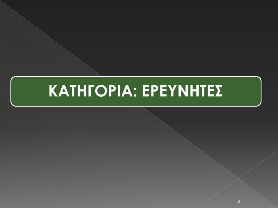  ΕΚΕΤΑ και ΕΙΕ υπεύθυνοι για τη διεξαγωγή (διάχυση και επεξεργασία) στην Ελλάδα  Τρόπος διάχυσης ερωτ/γίων: Ηλεκτρονική αποστολή  Διάρκεια: Οκτώβριος 2008 – Ιανούαριος 2009  Σύνολο ερωτηματολογίων: 94 από Ερευνητές, 20 από Stakeholders 3