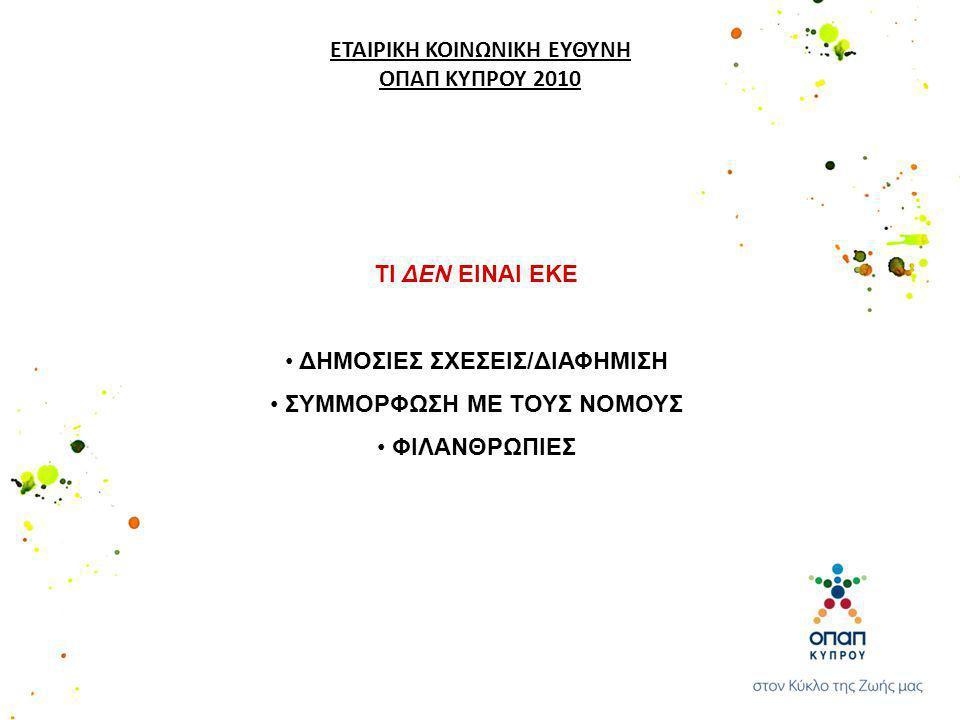 ΜΕΡΙΜΝΑ ΓΙΑ ΕΡΓΑΖΟΜΕΝΟΥΣ Οι εργαζόμενοι στην ΟΠΑΠ (Κύπρου) αποτελούν το πιο σημαντικό κεφάλαιο της εταιρείας.