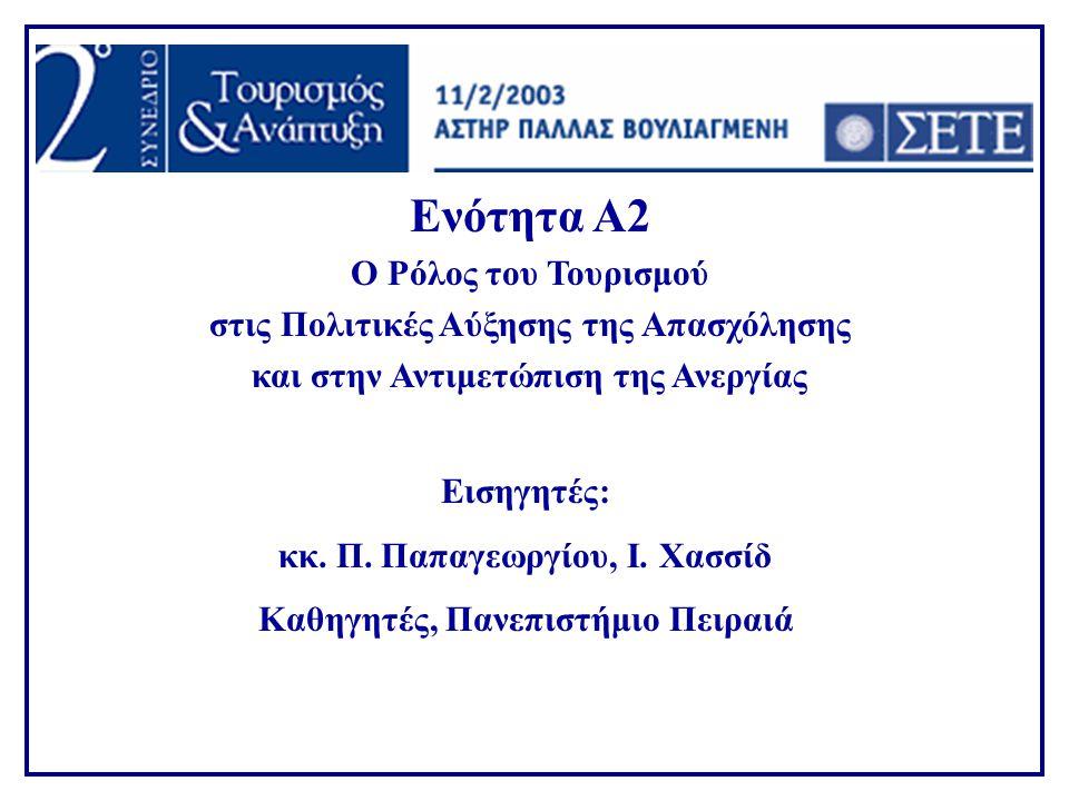 Απασχόληση σε Ξενοδοχεία & Καταλύματα 1993 (Ι)