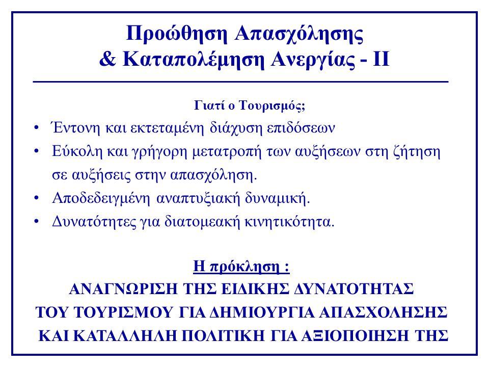Φορείς Κρατικής πολιτικής, Επαγγελματικές Οργανώσεις,Οργανώσεις Εργαζόμενων •Σκόπιμες παρεμβάσεις στις αγορές εργασίας •Διεύρυνση της «δεξαμενής» εργατικής δύναμης •Εξασφάλιση Ποιότητας και Παραγωγικότητας •Επαγγελματικός προσανατολισμός και προσέλκυση •Λειτουργία Διαμεσολάβησης •Όροι εργασίας : Κόστος, Ευελιξία •Υποδομές & Θεσμικές ρυθμίσεις