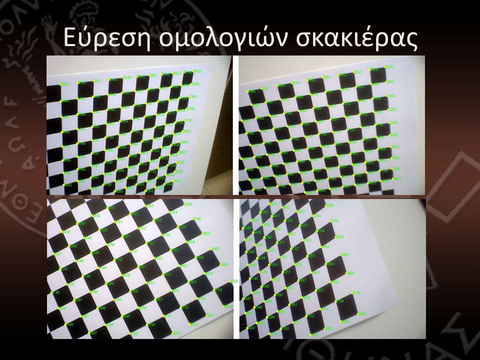Εύρεση ομολογιών σκακιέρας