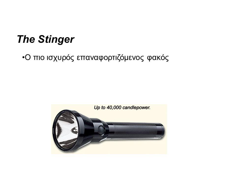 The Stinger •Ο πιο ισχυρός επαναφορτιζόμενος φακός