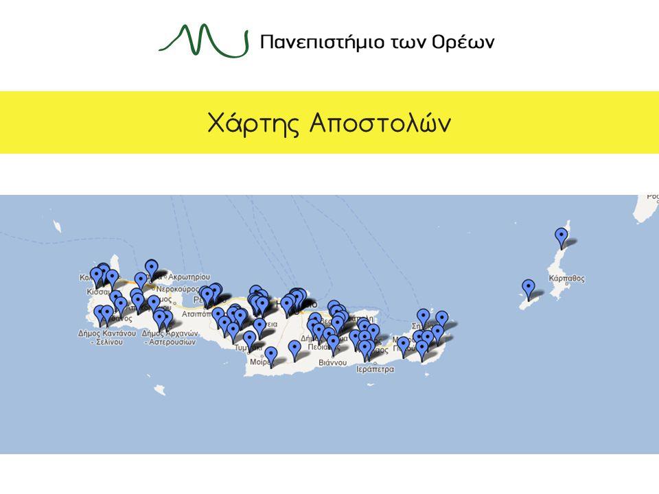 Χάρτης Αποστολών