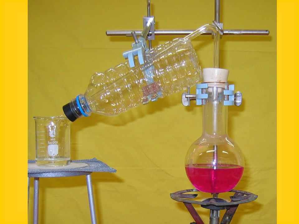 Διάλυση ΝΗ 3 σε νερό (Πίδακας ΝΗ 3 ) Παίρνουμε μια σφαιρική φιάλη του ενός λίτρου.