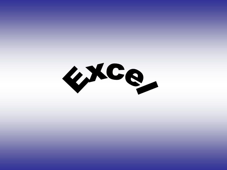 Microsoft Excel •Φύλλα εργασίας •Γραφήματα •Ανάλυση Δεδομένων •Βάσεις Δεδομένων •Μακροεντολές Το Εxcel είναι ένα ισχυρό και εύχρηστο πρόγραμμα με πολλές δυνατότητες.