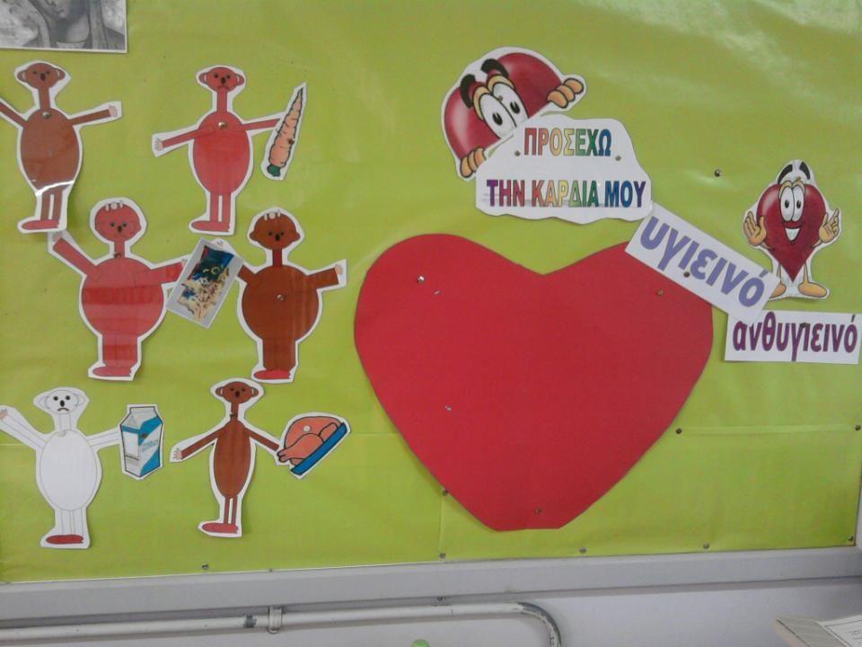 Τα παιδιά πέρασαν από 5 σταθμούς. 1. Διατροφή και καρδιά (παραμύθι). 2. Λειτουργία της καρδιάς. 3. Θεατρικό παιχνίδι και καρδιά (συναισθήματα). 4. Φυσ