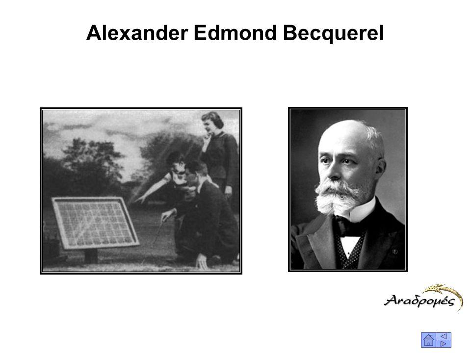 ΙΣΤΟΡΙΚΗ ΕΞΕΛΙΞΗ ΤΩΝ Φ/Β 1839Ο Γάλλος φυσικός Edmund Becquerel παρατήρησε για πρώτη φορά το φωτοβολταϊκό φαινόμενο στο μεταλλικό στοιχείο σελήνιο (Se)