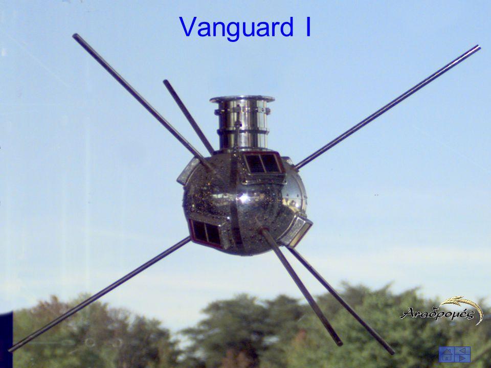 Ο πρώτος τηλεπικοινωνιακός δορυφόρος Telstar με φωτοβολταϊκά στοιχεία ισχύος 14 W.