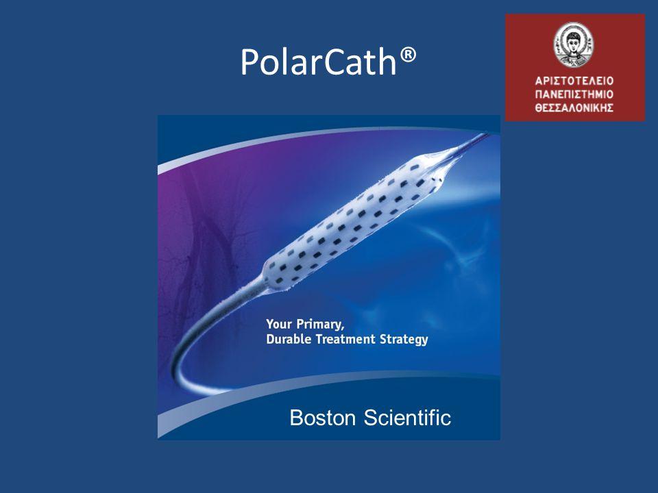 12 Απόφραξη Κ-Π στελέχους & περονιαίας PolarCath 2.5mm x 40mm