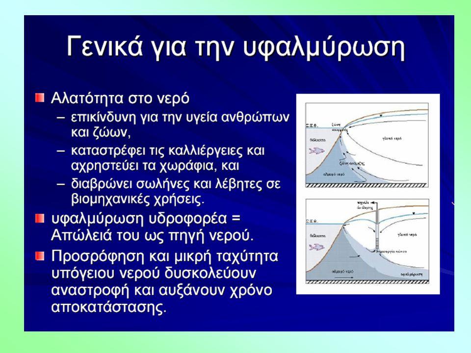 Τα ΒΤΧ εντοπίστηκαν στο υπόγειο νερό του Θριασίου Πεδίου σε τρεις κύριες περιοχές: Περιοχή (α): ΒΑ του Διυλιστηρίου Ασπροπύργου Η μέγιστη συγκέντρωση ΣΒΤΧ της περιοχής (α) φτάνει τα 81 μg/L.