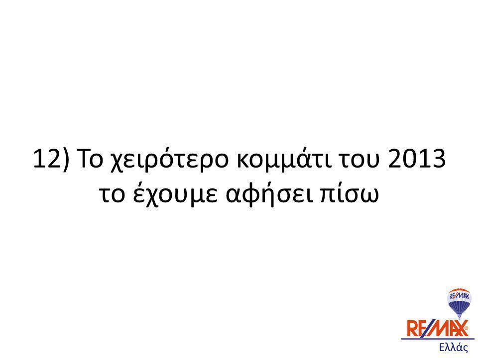 12) Το χειρότερο κομμάτι του 2013 το έχουμε αφήσει πίσω