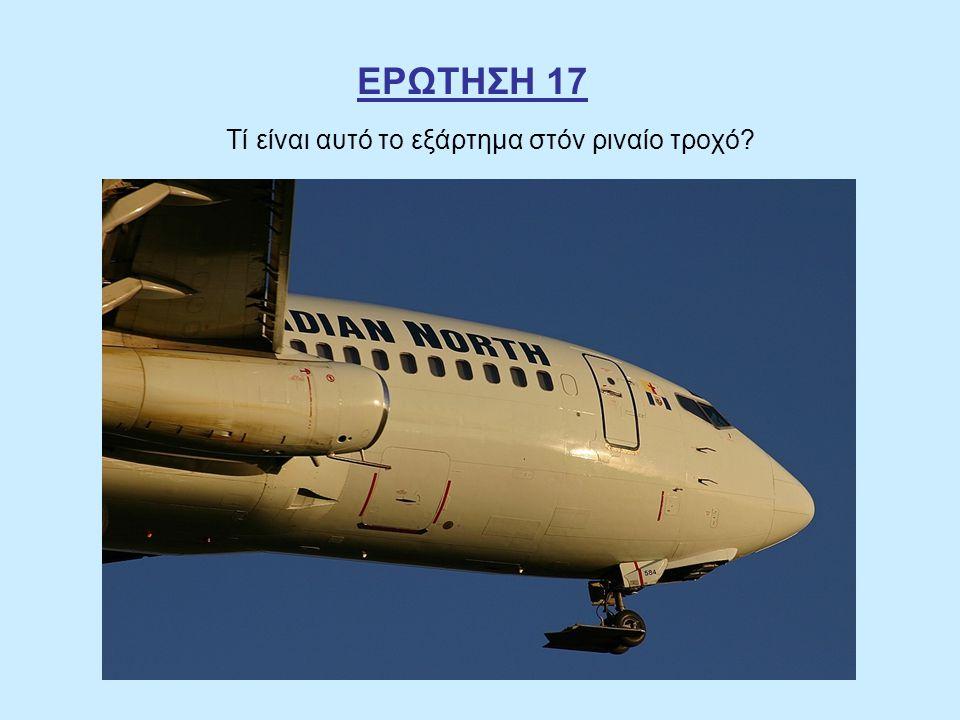 ΕΡΩΤΗΣΗ 17 Τί είναι αυτό το εξάρτημα στόν ριναίο τροχό?