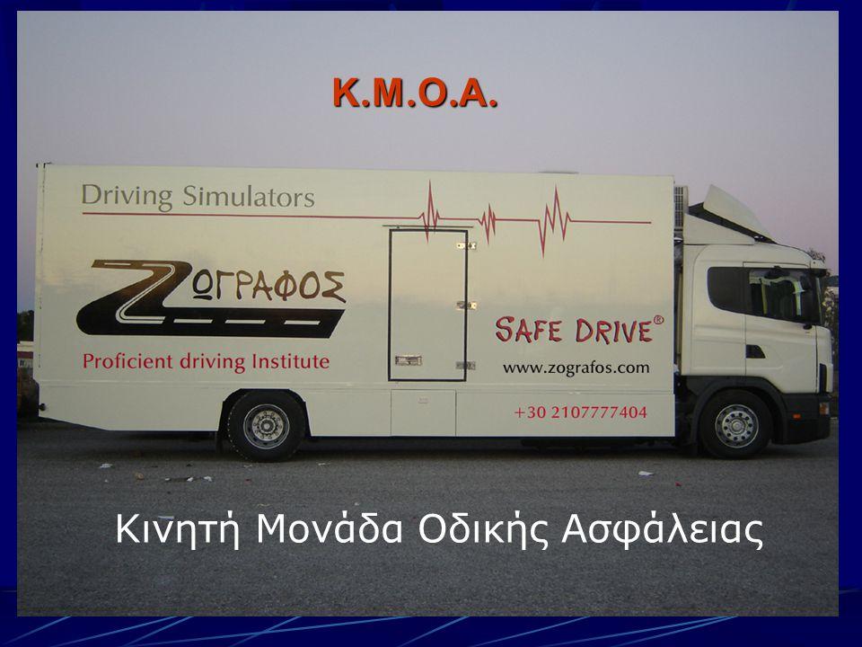 Κ.Μ.Ο.Α.Κ.Μ.Ο.Α.Κ.Μ.Ο.Α.Κ.Μ.Ο.Α. Κινητή Μονάδα Οδικής Ασφάλειας