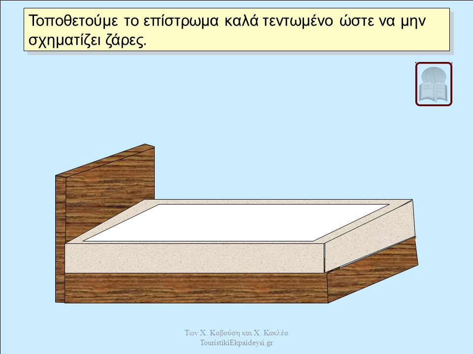 Καλύπτουμε με το κάλυμμα. Των Χ. Κοβούση και Χ. Κακλέα TouristikiEkpaideysi.gr