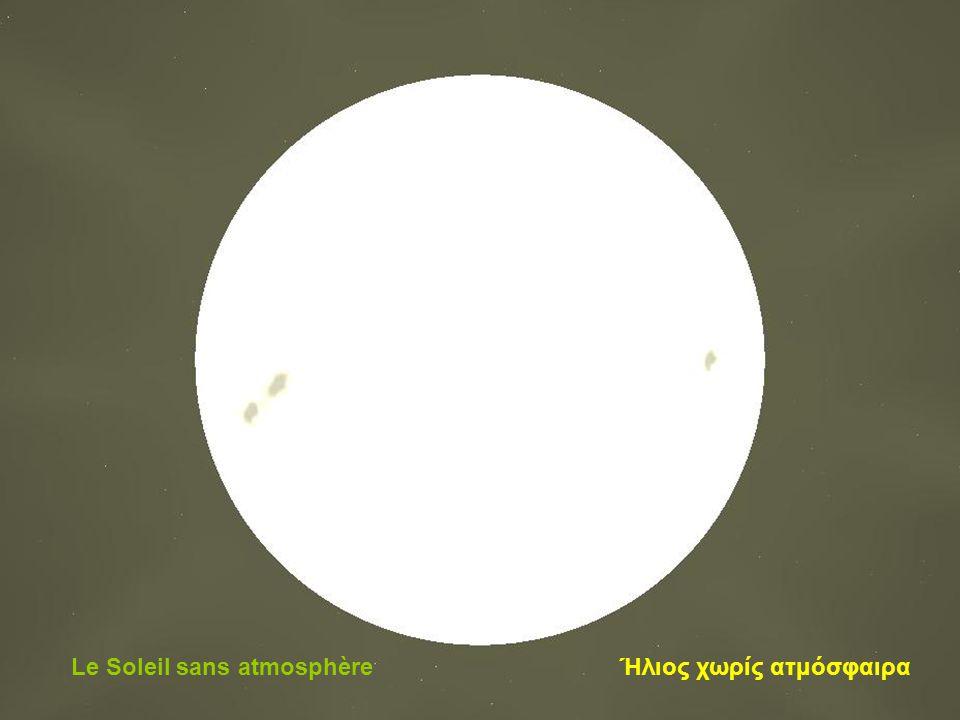 Le Soleil avec l'atmosphère Ήλιος και ατμόσφαιρα