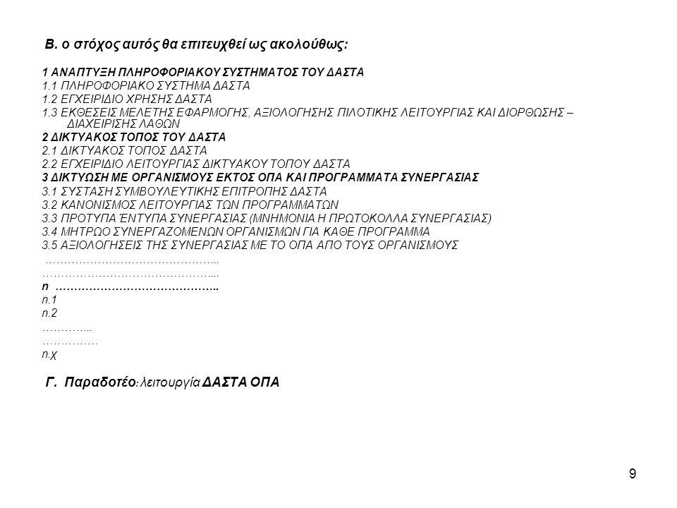 20 Οι δαπάνες για την αποζημίωση μελών Δ.Ε.Π και τις αμοιβές προσωπικού του τελικού Δικαιούχου για τη διοικητική και τεχνική υποστήριξη του έργου είναι επιλέξιμες εφόσον: •αφορούν σε πρόσθετη εργασία που δεν εντάσσεται στις συμβατικές υποχρεώσεις τους •υπάρχει σχετική απόφαση ανάθεσης έργου / παραδοτέων από το αρμόδιο όργανο του Ιδρύματος •τεκμηριώνεται και αναλύεται σαφώς η αναγκαιότητα και το κόστος της σχετικής απασχόλησης