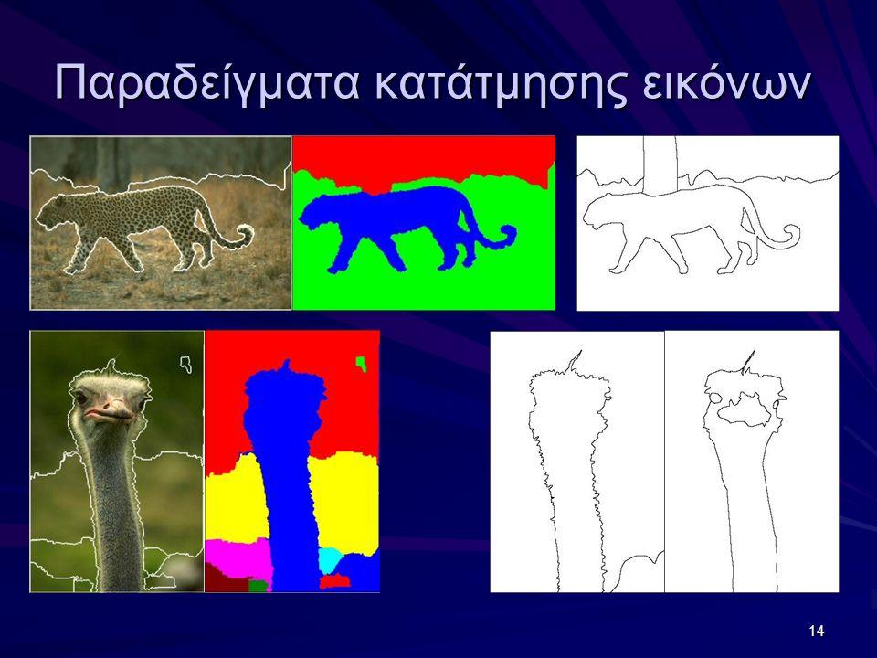 14 Παραδείγματα κατάτμησης εικόνων