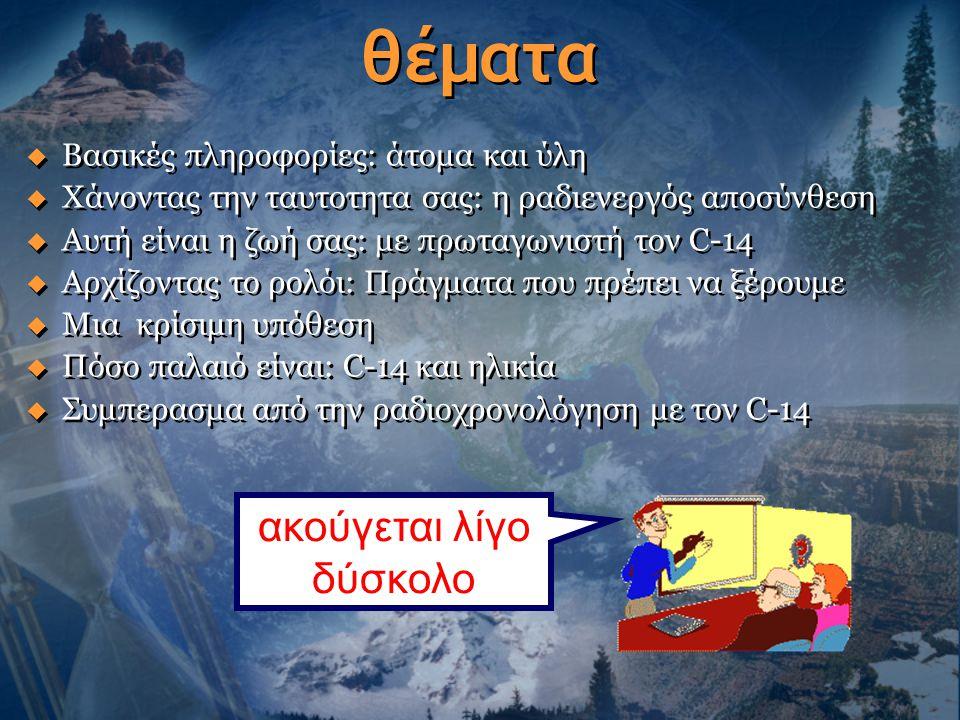 Το Ήλιο στη Ατμόσφαιρα  Το ουράνιο τελικά διασπάται σε μόλυβδο  Κατ' αυτή την διάρκεια διαμορφώνονται άτομα ηλίου  238 U 234 Th 234 Pa 234 U 230 Th 206 Pb 210 Po  Άτομα Ήλιου