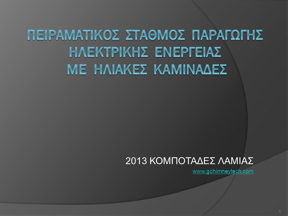 2013 ΚΟΜΠΟΤΑΔΕΣ ΛΑΜΙΑΣ www.gchimneytech.com 1
