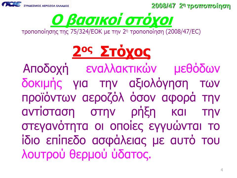 15 2008/47 2 η τροποποίηση 1 Εργαστήριο Θα πρέπει : 1.Να έχει το απαιτούμενο κύρος.
