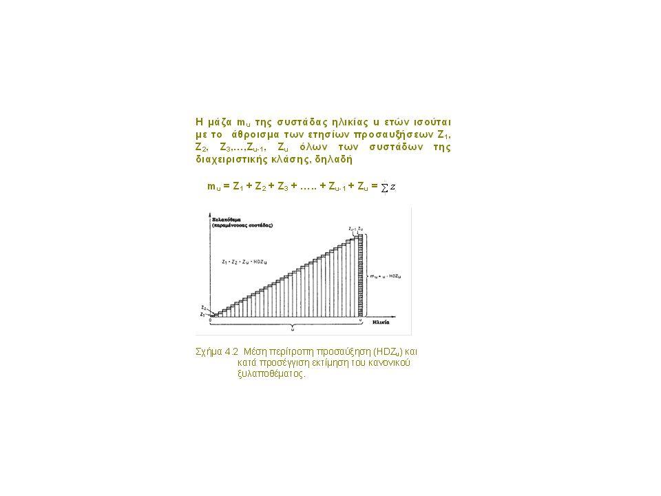 • Όπως γίνεται φανερό, ο ορισμός αυτός είναι αόριστος ώστε να μη μπορεί κανείς να κατανοήσει και αναπαραστήσει τη μορφή και σύνθεση την οποία πρέπει να έχει μια συστάδα για να χαρακτηριστεί ως κηπευτή, δηλαδή με δεδομένες φυσικές, βιολογικές και οικονομικές προϋποθέσεις να μπορεί να παράγει αυτή ετήσια και στο μέλλον τον ίδιο ξυλώδη όγκο χωρίς μείωση του ξυλαποθέματός της.