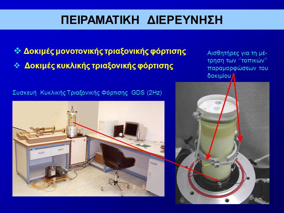 ΑΝΑΛΥΤΙΚΗ ΔΙΕΡΕΥΝΗΣΗ Μείωση κόστους Εφαρμογή της προτεινόμενης μεθοδολογίας για την περίπτωση συνήθους τοίχου- προβόλου σκυροδέματος ύψους 4.0m οδηγεί στις ακόλουθες μέσες μειώσεις κόστους (σε σχέση με την κατασκευή συμβατικού τοίχου) για τις τρεις ζώνες σεισμικής επικινδυνότητας του Ελληνικού χώρου: Ζώνη Πάχος συμπιεστού παρεμβλήματος, t r, % Μείωση κόστους, % Ι 511 ΙΙ 630 ΙΙΙ 840