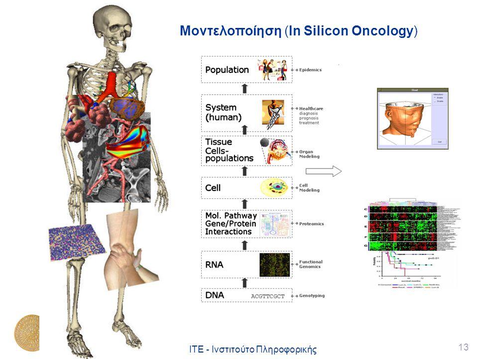 13 ΙΤΕ - Ινστιτούτο Πληροφορικής Μοντελοποίηση (In Silicon Oncology)