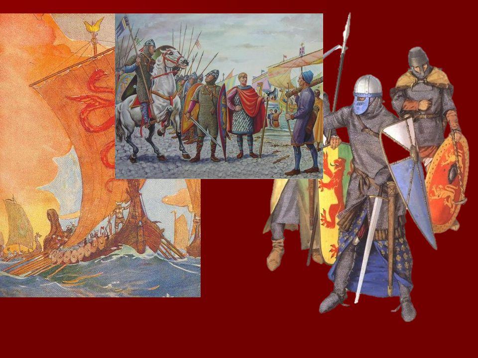Η πορεία προς την Κωνσταντινούπολη  Εκμεταλλευόμενοι τα εσωτερικά προβλήματα των Βυζαντινών και τις συγκρούσεις τους με τους Σελτζούκους Τούρκους, κατάκτησαν χωρίς δυσκολία τα βυζαντινά εδάφη της Νότιας Ιταλίας.