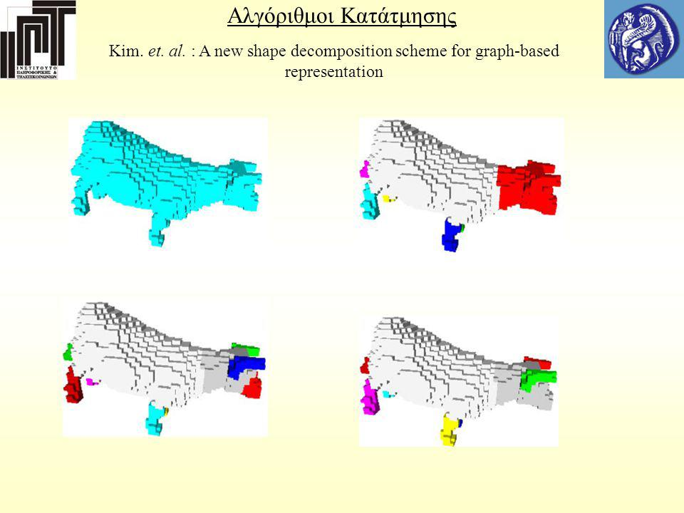 Αλγόριθμοι Κατάτμησης Κim.et. al.