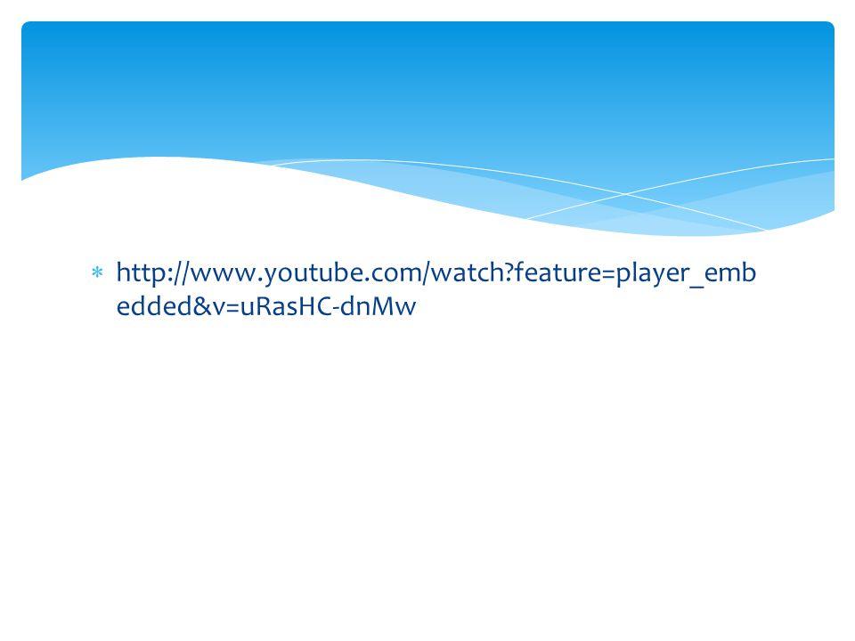  http://www.youtube.com/watch?feature=player_emb edded&v=uRasHC-dnMw