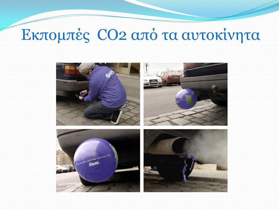 Εκπομπές CO2 από τα αυτοκίνητα